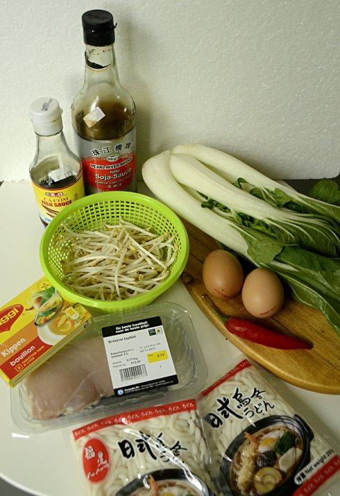 Udon Noodle Ingrediënten