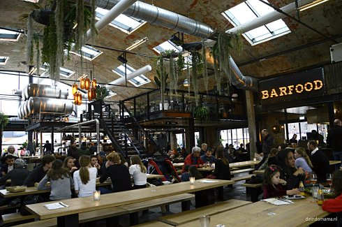 Overzicht foodhall Mout