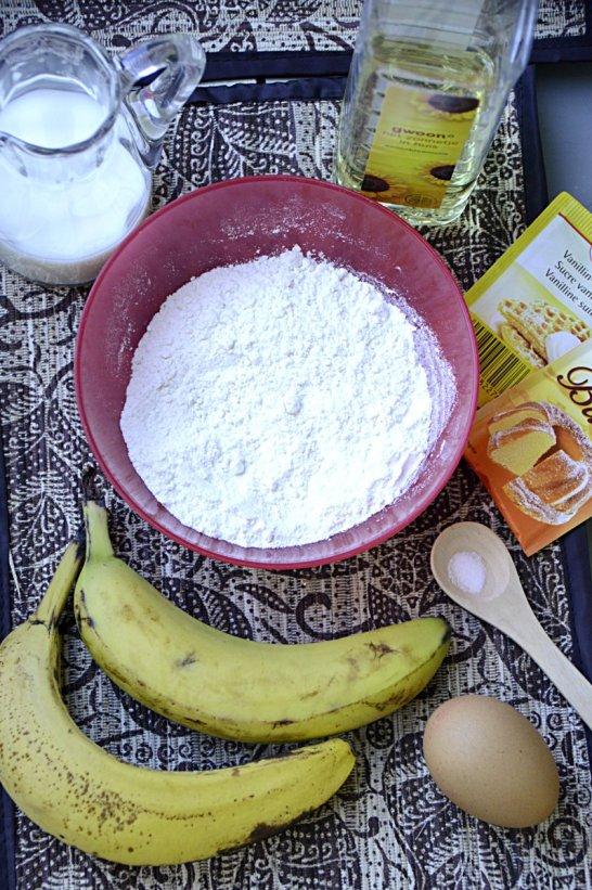 ingrediënten- pisang goreng