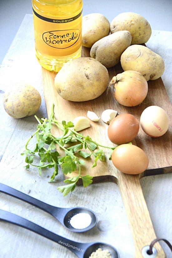 ingrediënten- perkedel- kentang