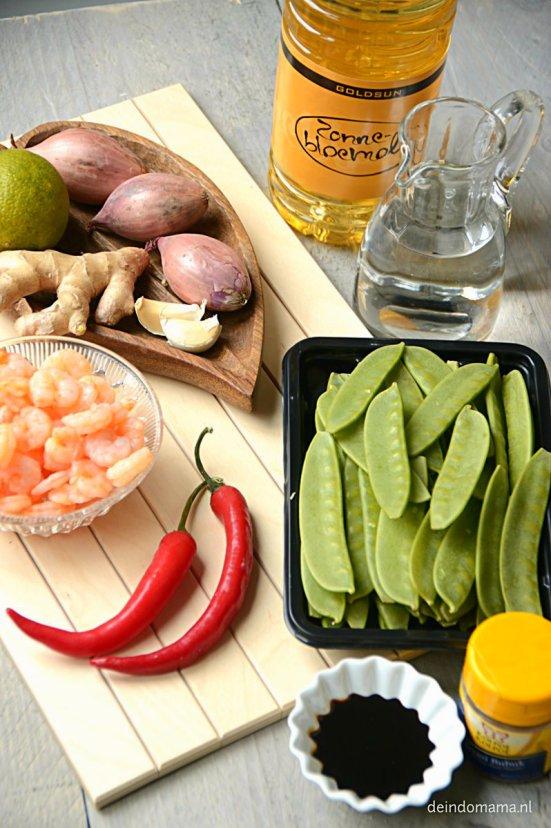 ingrediënten -tumis- pollong