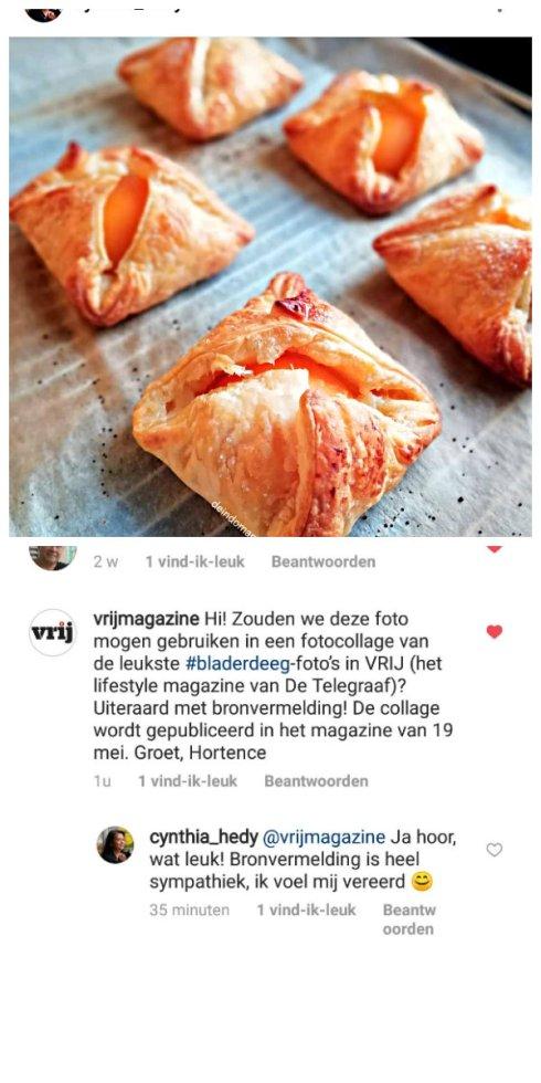 de Telegraaf- #bladerdeeg