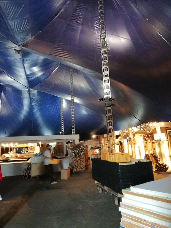 Opbouw -Tong Tong Fair 2018