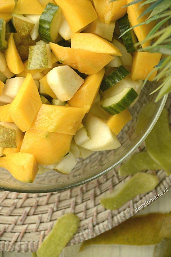 fruit voor de roedjak manis