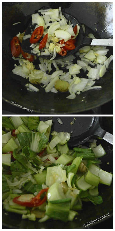 ingrediënten- paksoi- en- tahu- in- oestersaus