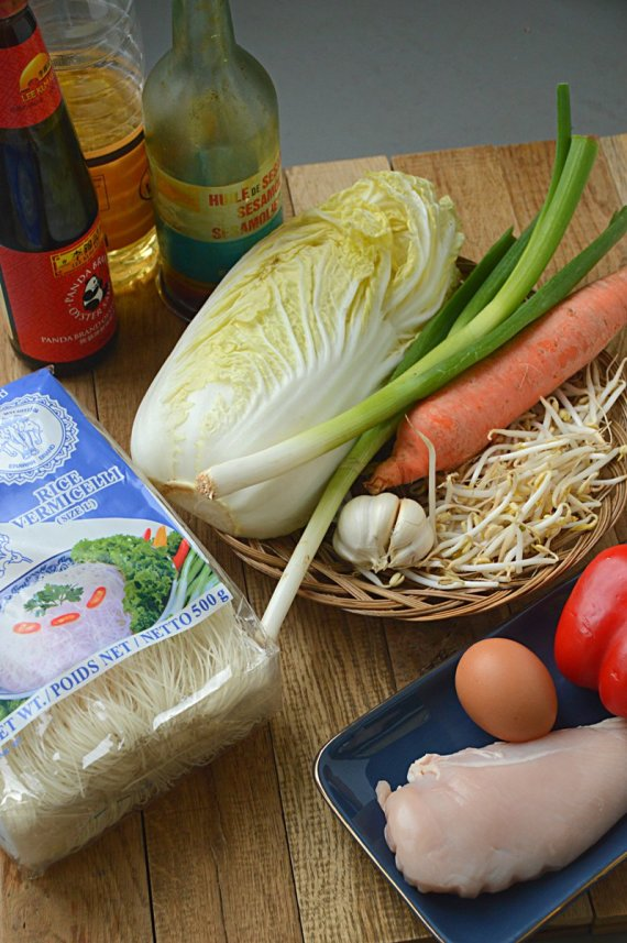 ingrediënten -mihoen