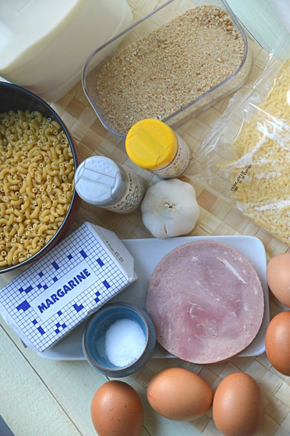 ingrediënten- indische- macaroni