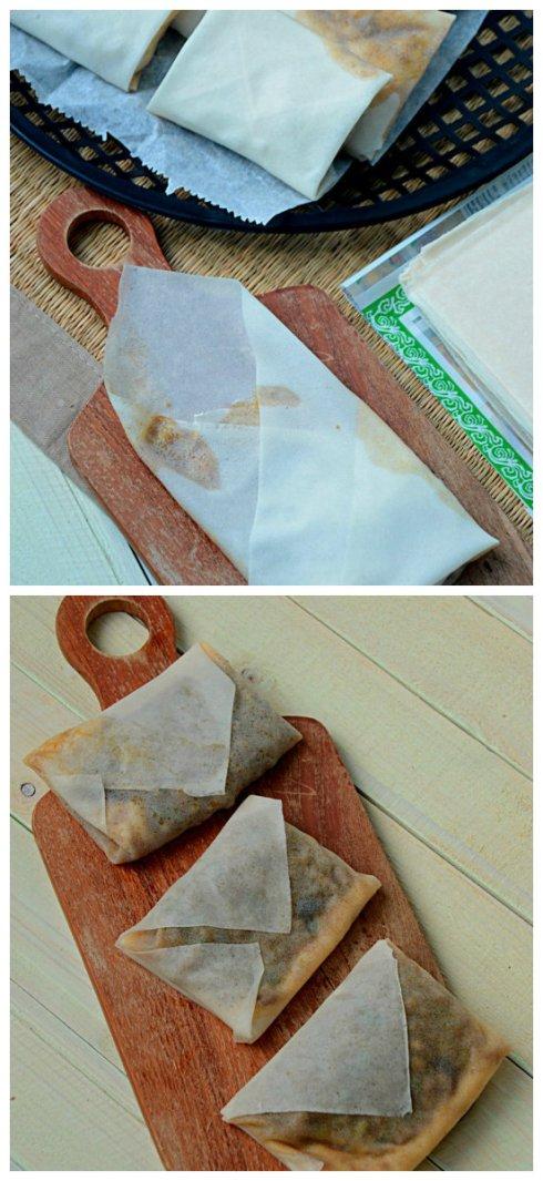 vouwtechniek- martabak- telor